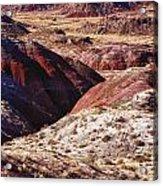 The Painted Desert  8023 Acrylic Print