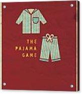 The Pajama Game Acrylic Print by Megan Romo