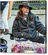 The Palm Reader Of New Orleans Acrylic Print