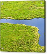 The Pantanal Seen From The Sky Vii Acrylic Print