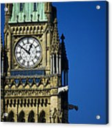 The Peace Tower, On Parliament Hill Acrylic Print
