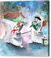 The People From The Troodos Mountains Acrylic Print