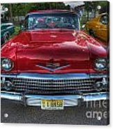 The Perfect Red Bel Air Acrylic Print