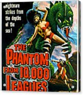 The Phantom From 10,000 Leagues, Poster Acrylic Print by Everett