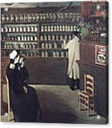 The Pharmacy, 1912 Artwork Acrylic Print