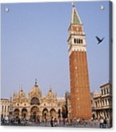 The Piazza San Marco Is The Focal Point Acrylic Print