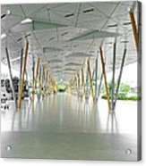 The Pick Up Point At Changi Airport In Singapore  Acrylic Print