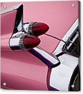 The Pink Cadillac Acrylic Print