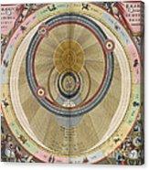 The Planisphere Of Brahe Harmonia Acrylic Print