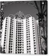 The Plaza Las Vegas  Acrylic Print by Susan Stone