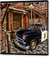 The Police Hideout Acrylic Print