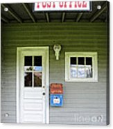 The Post Office Acrylic Print