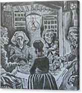 The Potato Eaters By Vincent Van Gogh Acrylic Print