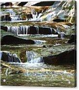 The Potholes Acrylic Print by Virginia Folkman