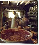 The Potters Barn Acrylic Print