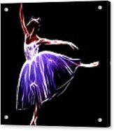 The Princess Dancer Acrylic Print