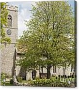 The Priory Church Of Saint Mary And All Saints Weybourne Acrylic Print