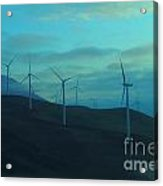 The Promise Of Wind  Acrylic Print