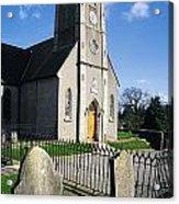 The Protestant Church, Delgany, Co Acrylic Print