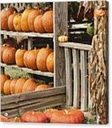 The Pumpkin Shack At Isom's Orchard Acrylic Print