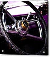 The Purple 1950 Mercury Acrylic Print by David Patterson