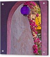 The Purple Lantern Acrylic Print