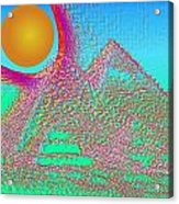 The Pyramids Acrylic Print
