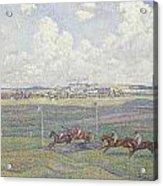 The Racecourse At Boulogne-sur-mer Acrylic Print