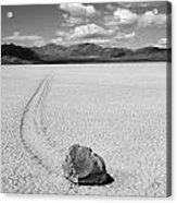 Death Valley California The Racetrack 2 Acrylic Print