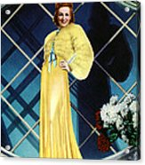The Rage Of Paris, Danielle Darrieux Acrylic Print by Everett