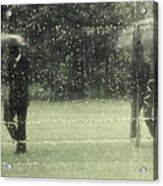 The Rain Shower Acrylic Print