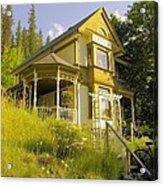 The Rainbow House Acrylic Print