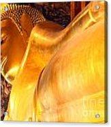 The Reclining Buddha Acrylic Print