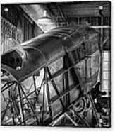 The Red Barn Of The Boeing Company IIi Acrylic Print
