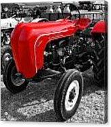 The Red Porsche Acrylic Print