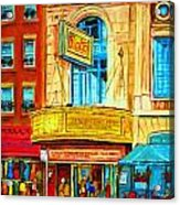 The Rialto Theatre Acrylic Print