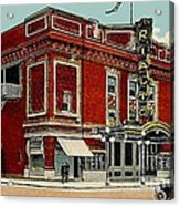 The Rialto Theatre In Brooklyn N Y In The 1920's Acrylic Print
