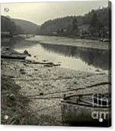The River Fowey At Lerryn Acrylic Print