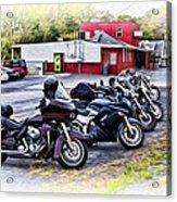 The Riverside Barr And Grill - Easton Pa Acrylic Print
