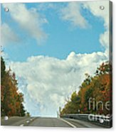 The Road To Heaven Acrylic Print