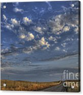 The Road To Nowhere Acrylic Print