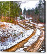 The Road To Spring Acrylic Print