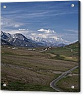 The Road To The Great One Acrylic Print