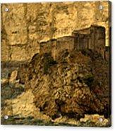 The Rock In Dubrovnik Acrylic Print