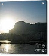 The Rock Of Gibraltar Acrylic Print
