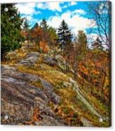 The Rocks Above Eagle Bay Acrylic Print