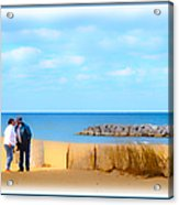 The Romantic Beach Acrylic Print