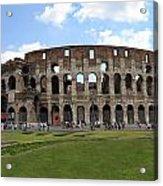 The Rome Coliseum Acrylic Print