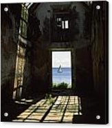 The Ruin Of A Slave Warehouse Dating Acrylic Print