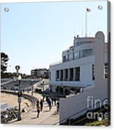 The Sala Burton Building . Maritime Museum . San Francisco California . 7d13993 Acrylic Print